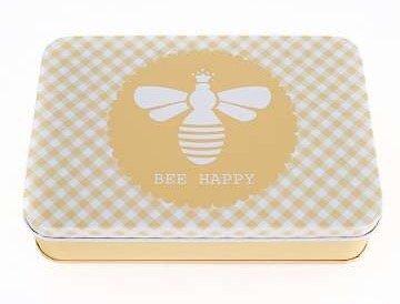 Cute Tin - Bee Happy