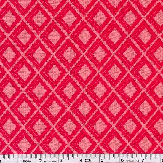 Simply Color - Ikat Diamonds - Spicy Hot Pink