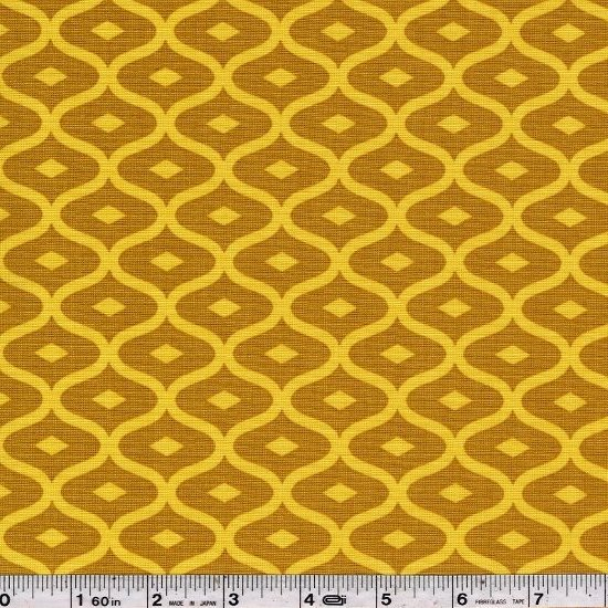 Simply Style - Geometric Ogee - Mustard