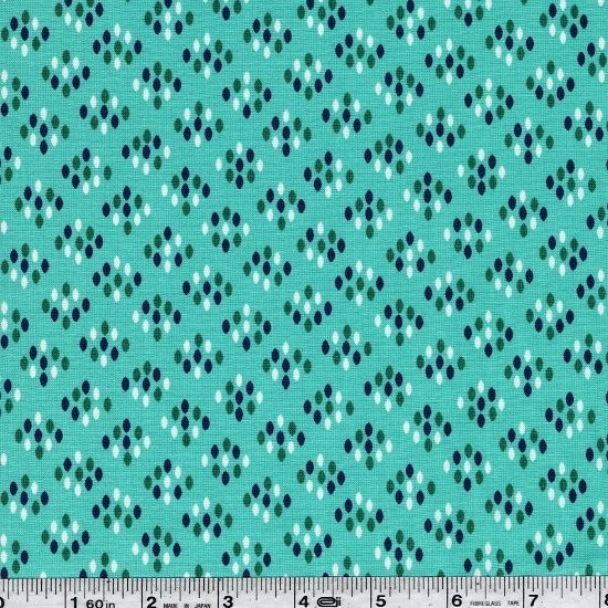 Color Me Happy - Cluster Dots - Teal