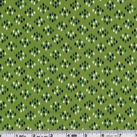 Color Me Happy - Cluster Dots - Lime Green