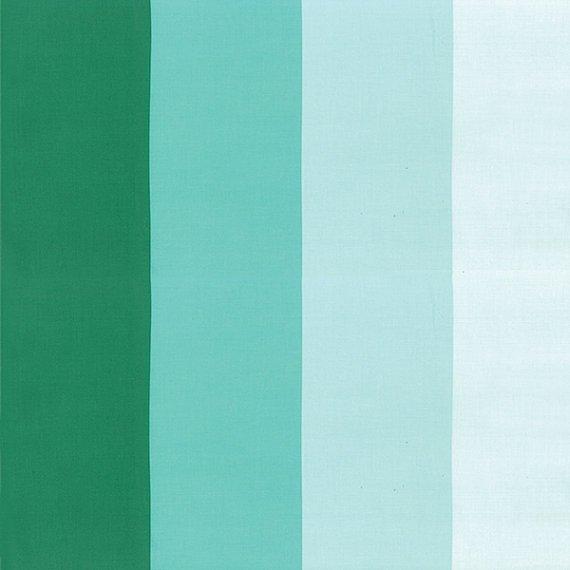 Color Me Happy - Ombre Stripe - Teal