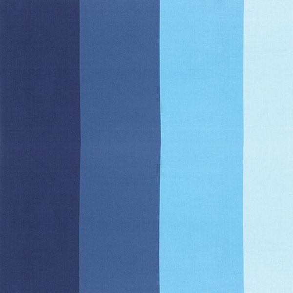 Color Me Happy - Ombre Stripe - Navy