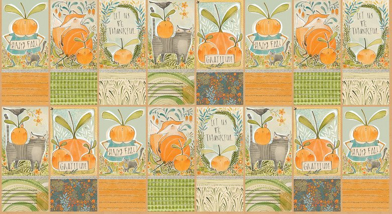 Fall Goodness - Fall Bounty Panel