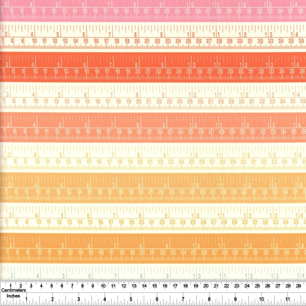 Sewing Mood - Rulers - Bright