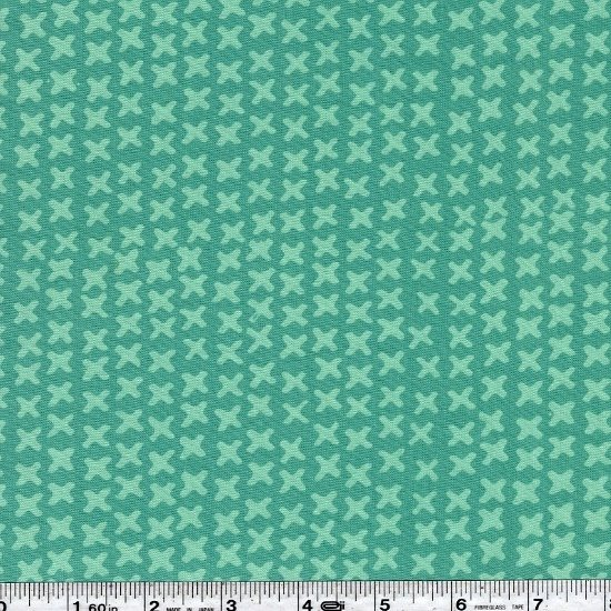Modern Batiks - X's - Sapphire