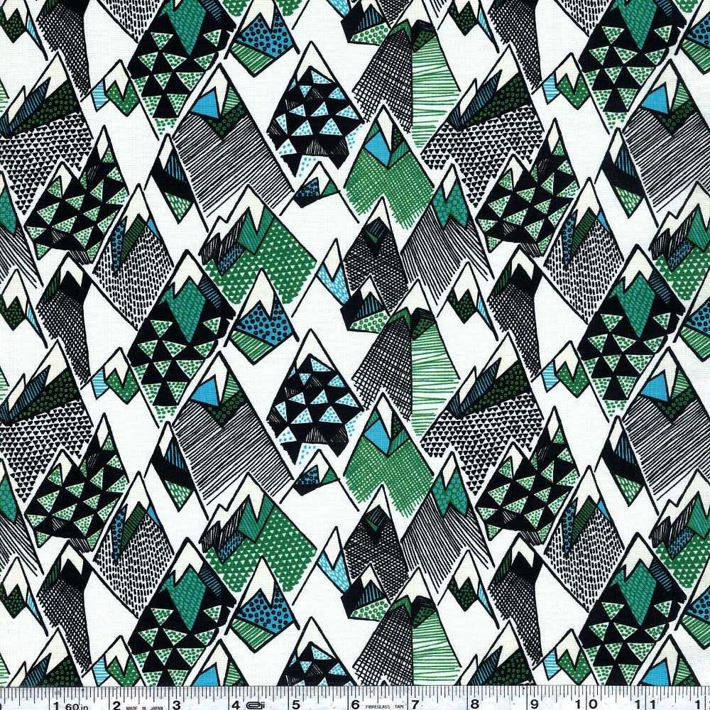 Panda Forest - Bamboo Mountain - Green