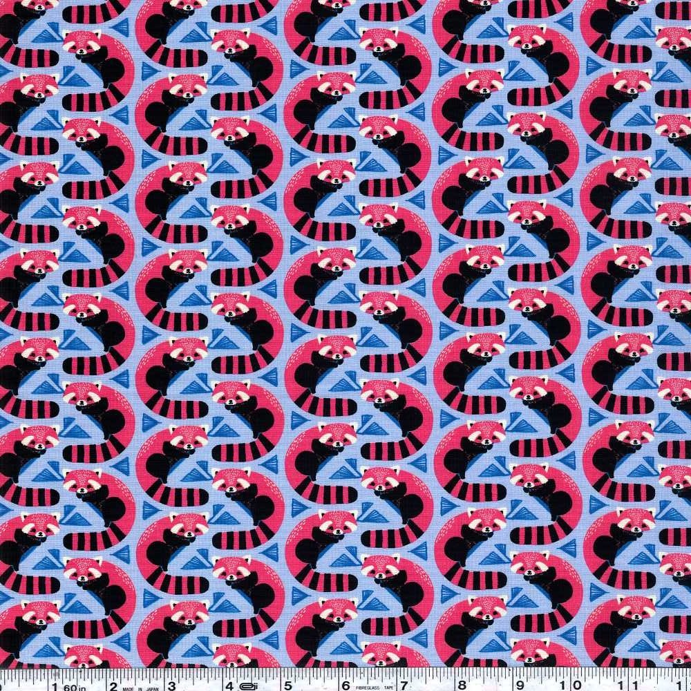 Panda Forest - Red Panda - Blue