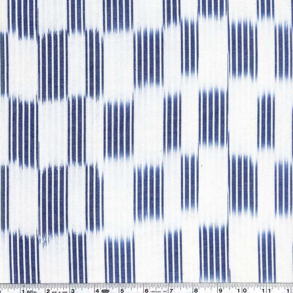 Boro Wovens - Ikat Stripe - Dark Indigo