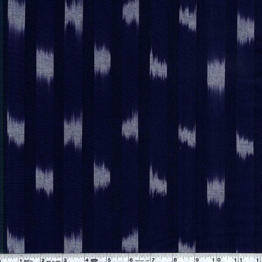 Boro Wovens - Wide Stripe - Dark Indigo