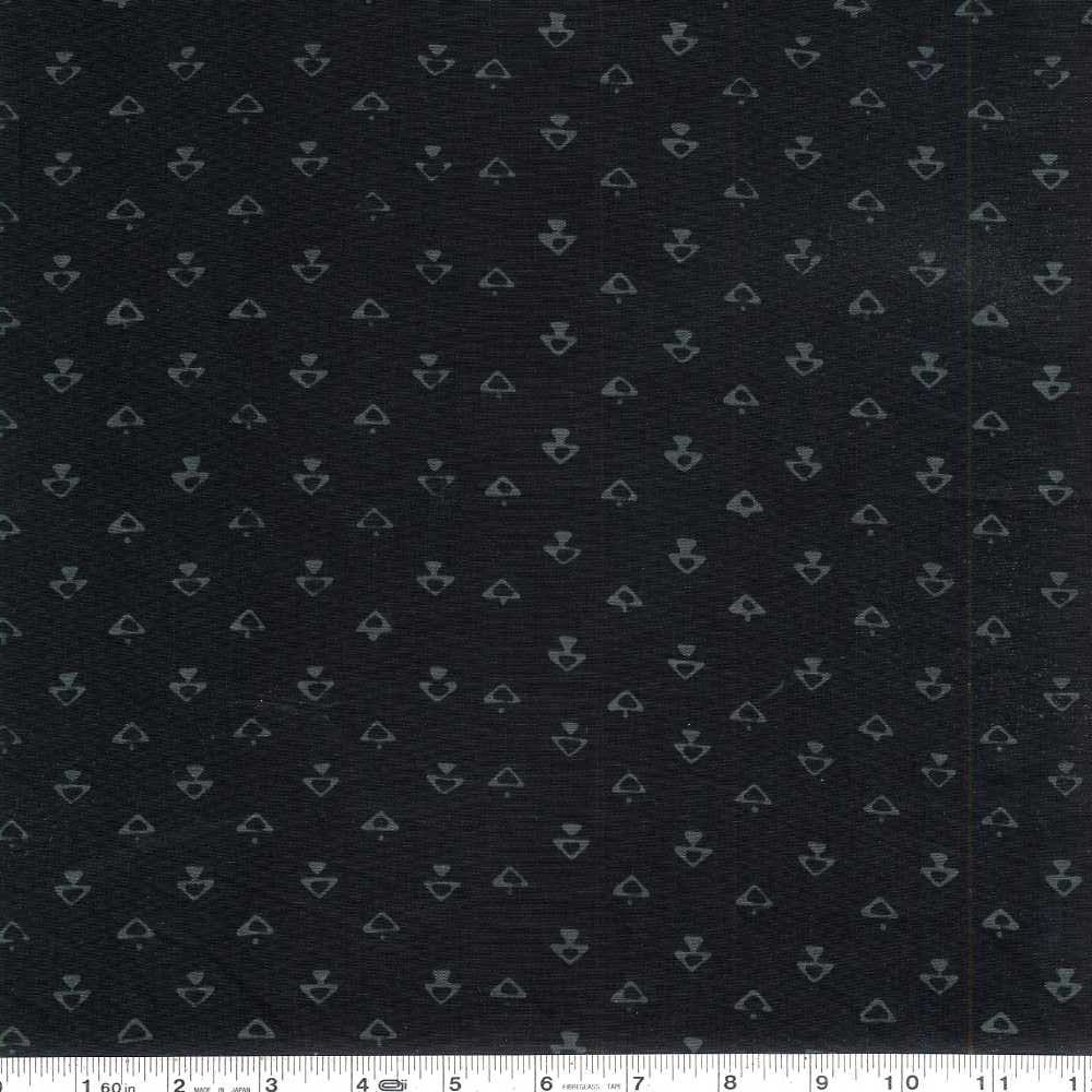 Modern Batiks - Ditzy Triangles - Raven