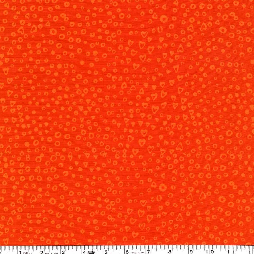 Modern Batiks - Heart Dots - Monarch