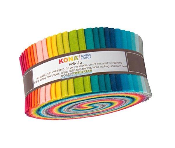 2 1/2 Roll - Kona Cotton - Elizabeth Hartman Designer Palette