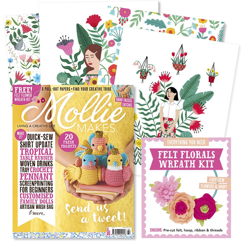 Mollie Makes - Issue 80