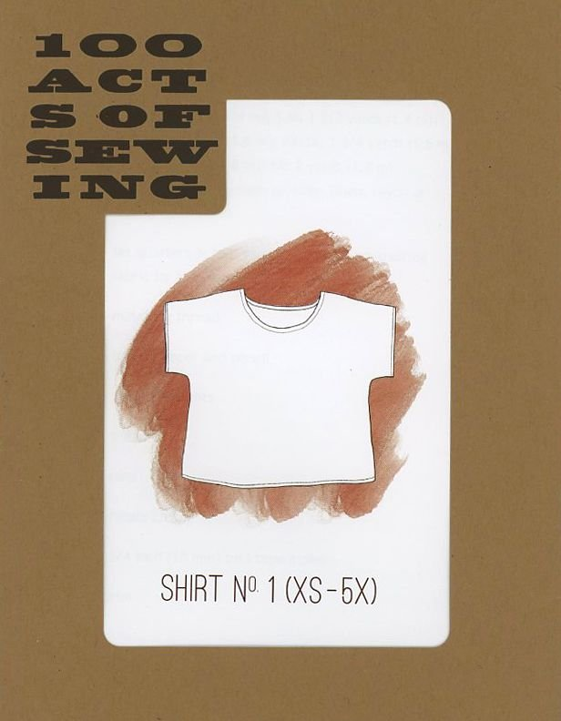 100 Acts of Sewing - Shirt No. 1 - XS-5X