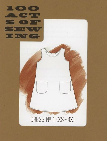 100 Acts of Sewing - Dress No. 1 - XS-4X
