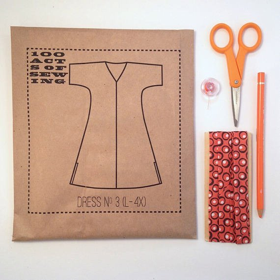 100 Acts of Sewing - Dress No. 3 - L-4XL