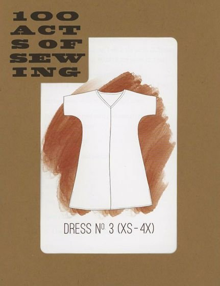 100 Acts of Sewing - Dress No. 3 - XS-4XL