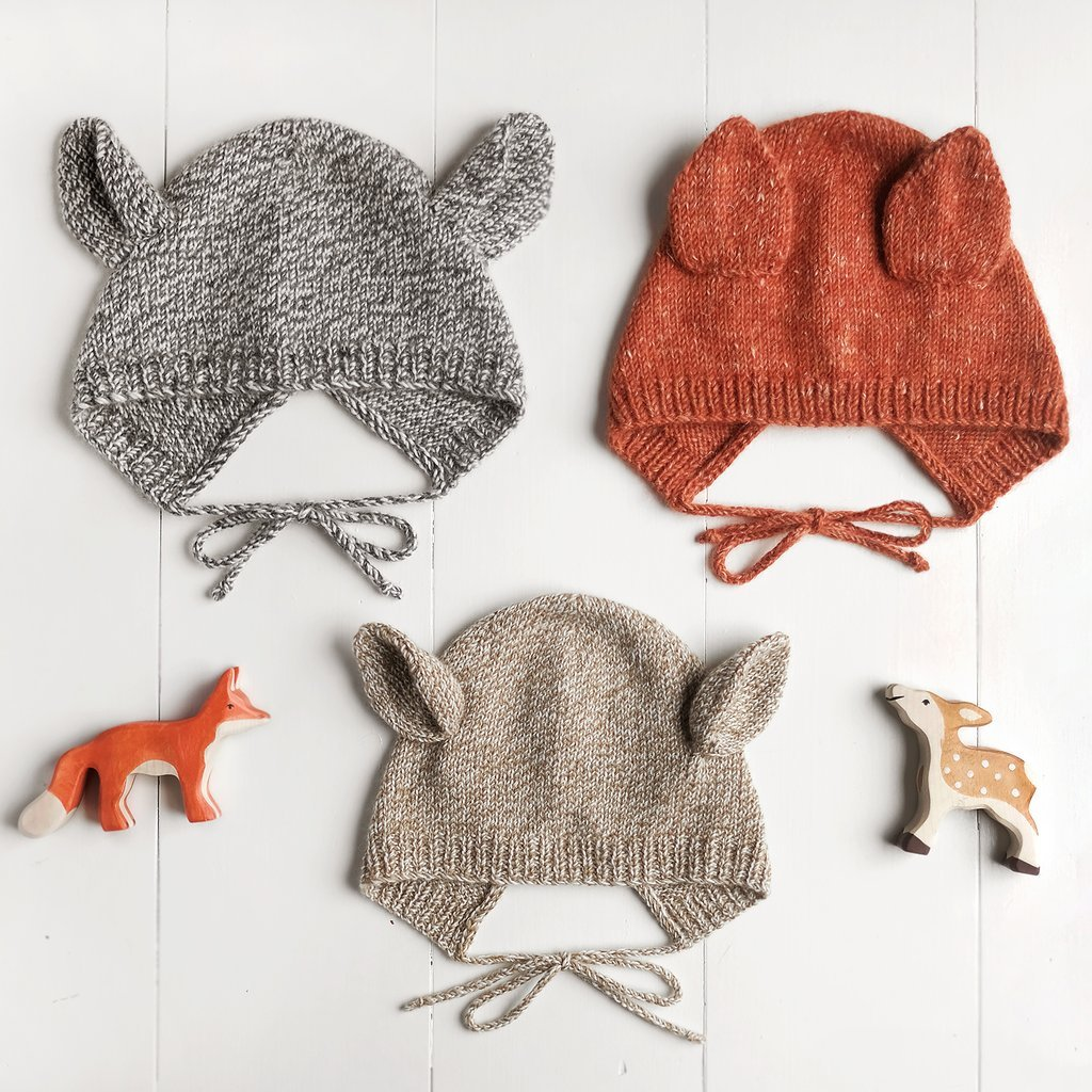 Wiksten - Baby + Child Animal Bonnet