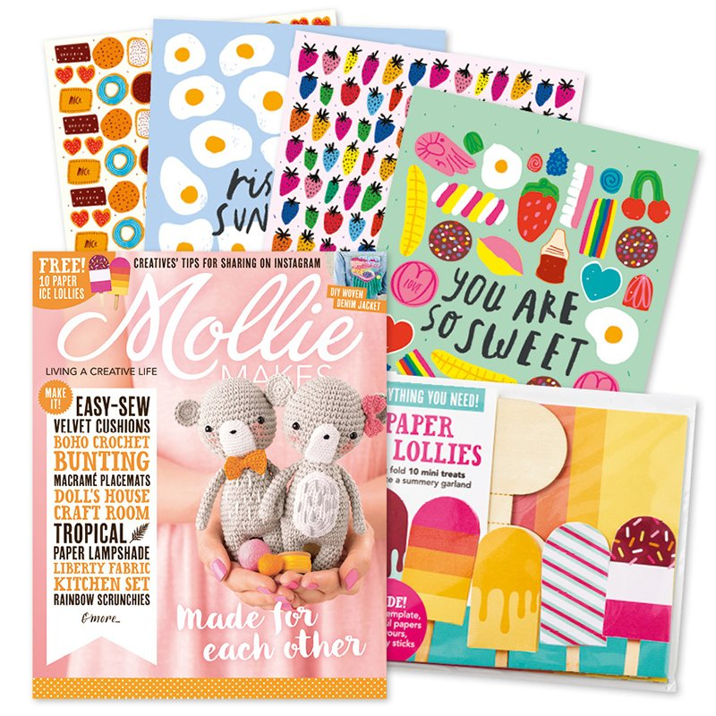 Mollie Makes - Issue 93