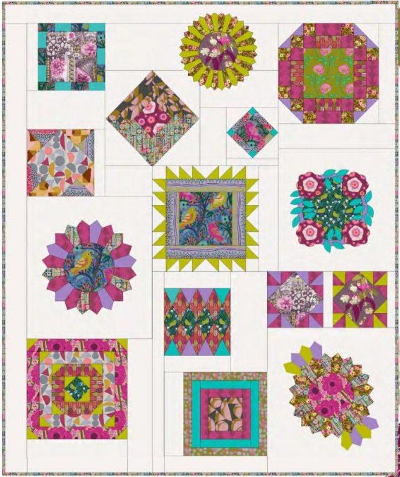 Conservatory: Pathways Quilt Pattern PDF