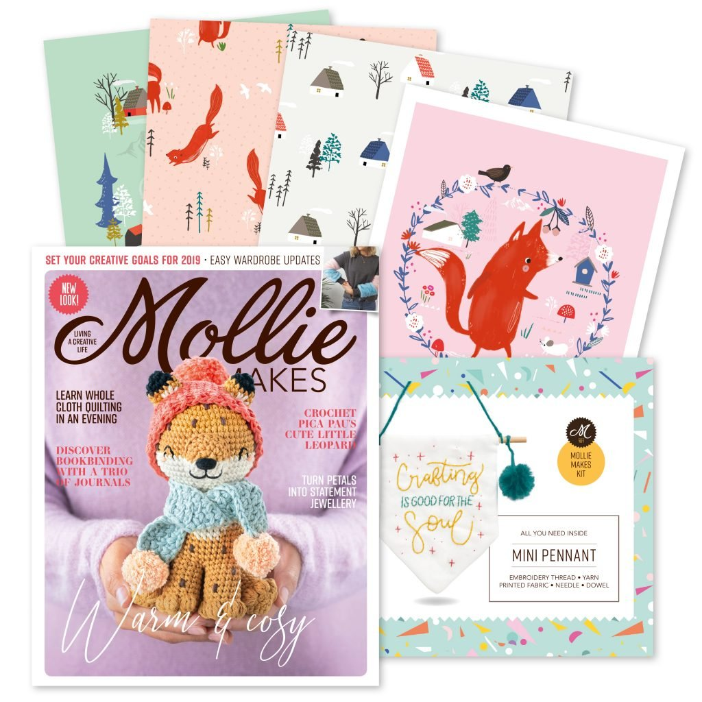 Mollie Makes - Issue 101