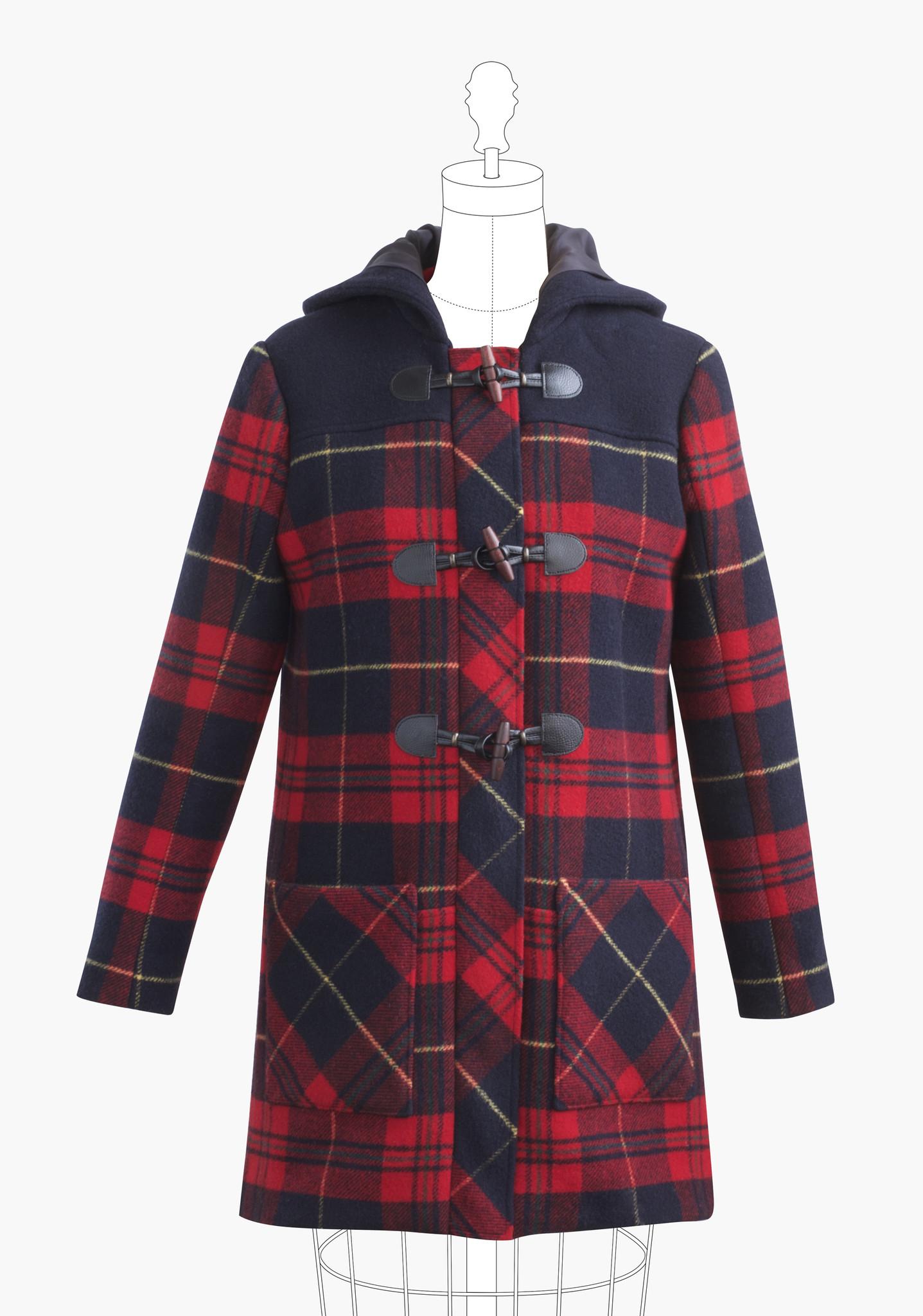 Grainline Studio - Cascade Duffle Coat