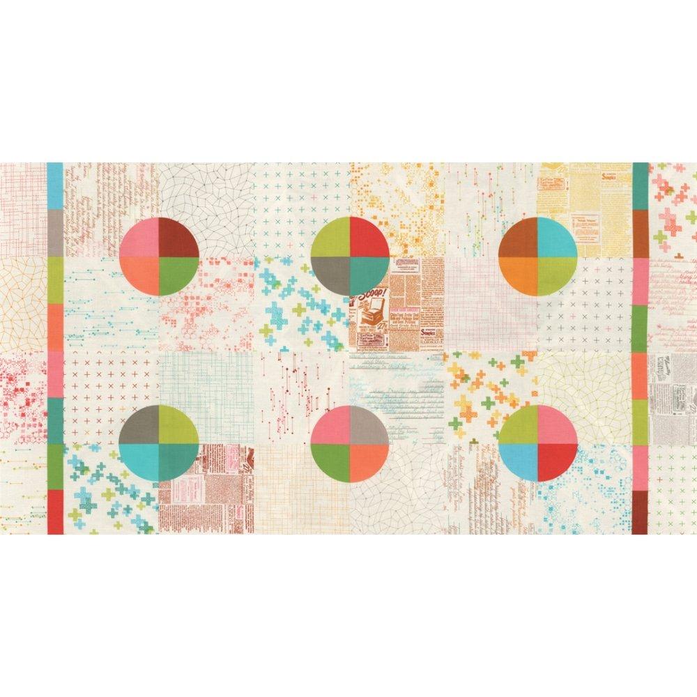 Modern Background Colorbox Panel - Porcelain