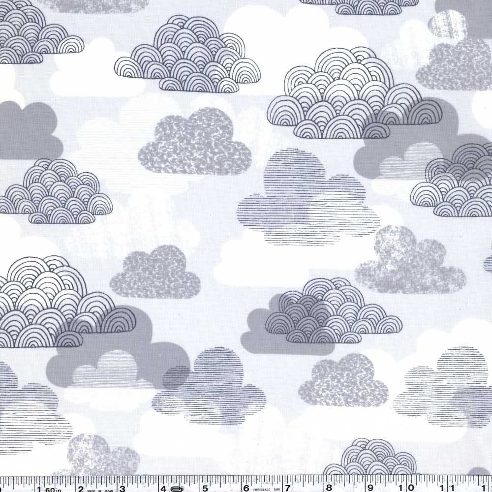First Light - Passing Clouds Laminate - Grey