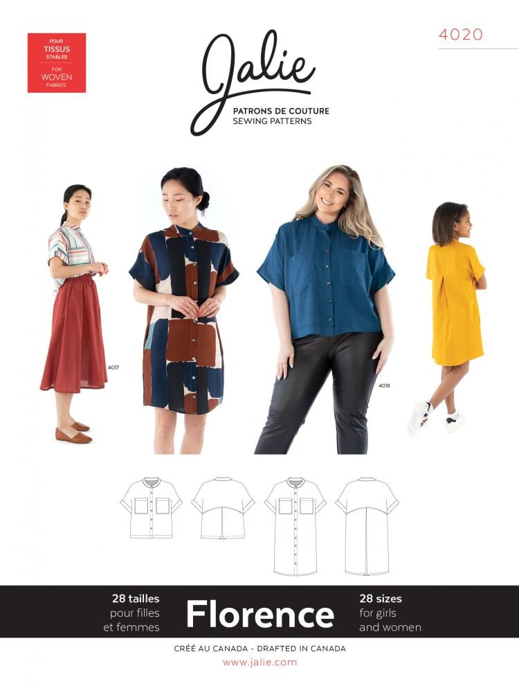 Jalie - Florence Shirt & Shirtdress