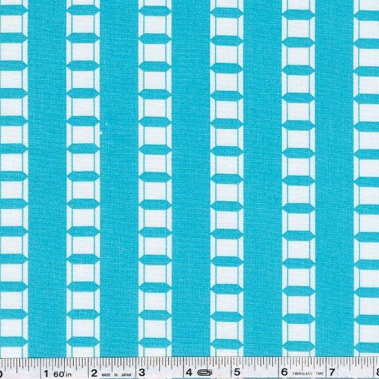 Sew Stitchy - Spool Stripe - Aqua Blue
