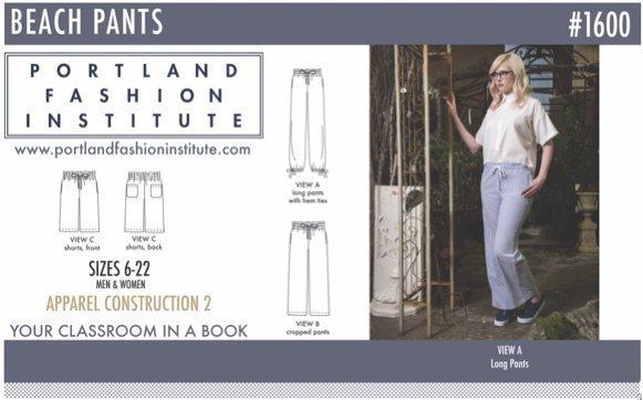 Portland Fashion Institute - Beach Pants