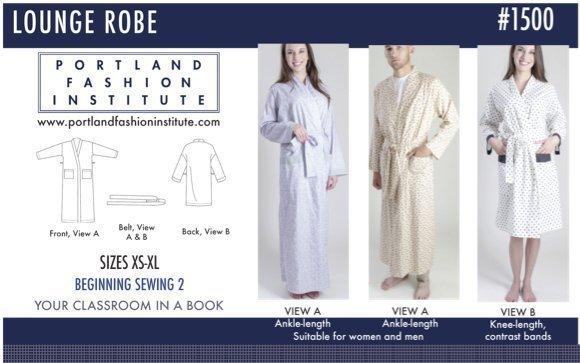 Portland Fashion Institute - Lounge Robe