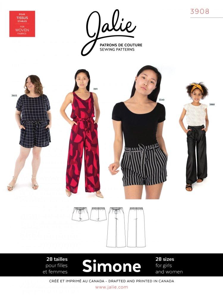 Jalie - Simone Wide-Leg Shorts & Pants