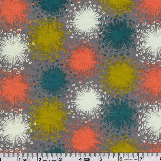 August - Dandelion Lawn - Grey