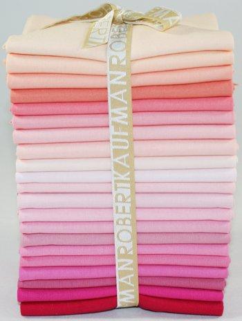 FQ - Kona Cotton - Pretty in Pink