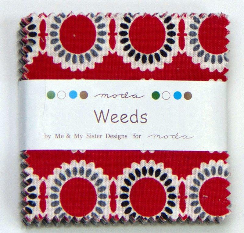 Mini Charm Pack - Weeds