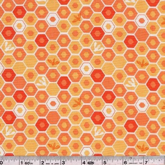 Honey Honey - Honeycomb Home - Coral