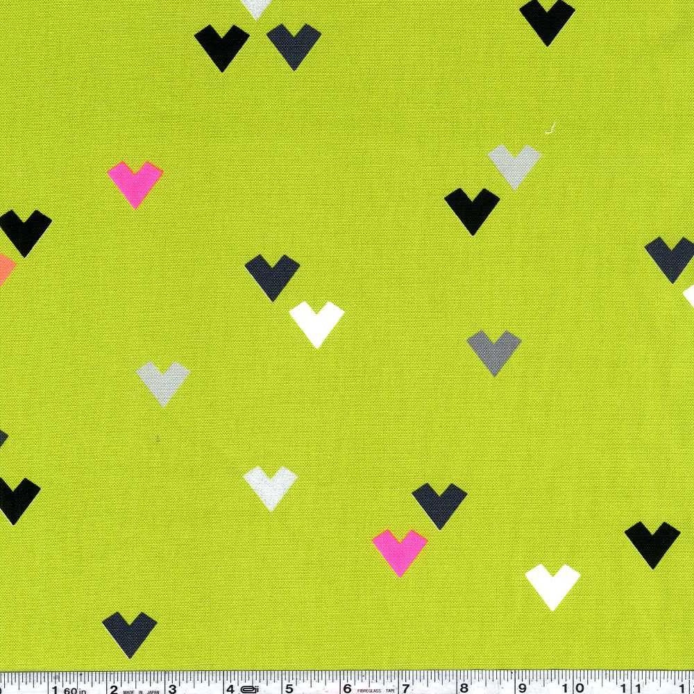 Heart Sprinkles - Chartreuse