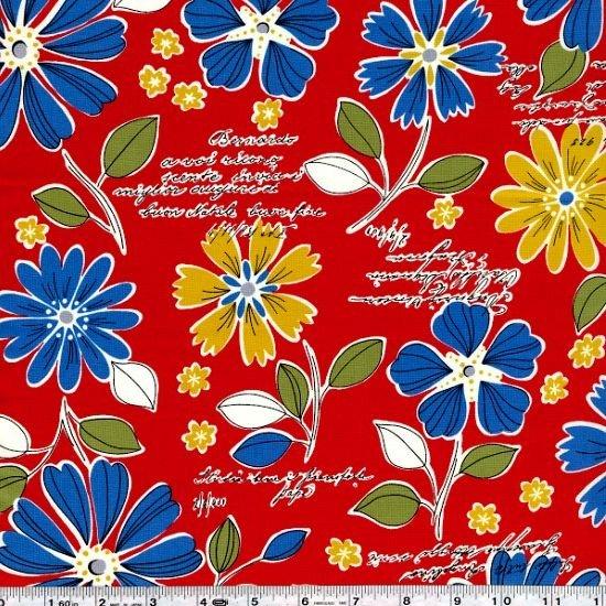 Mrs. March's Retro Pop - Wildflower Bouquet - Red
