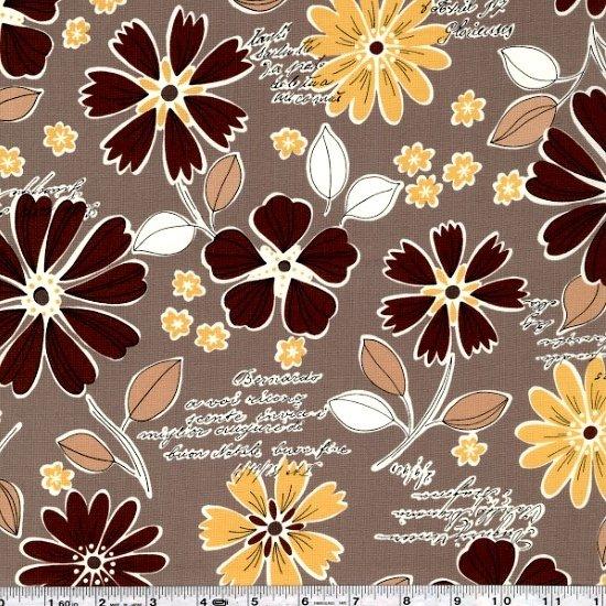 Mrs. March's Retro Pop - Wildflower Bouquet - Taupe