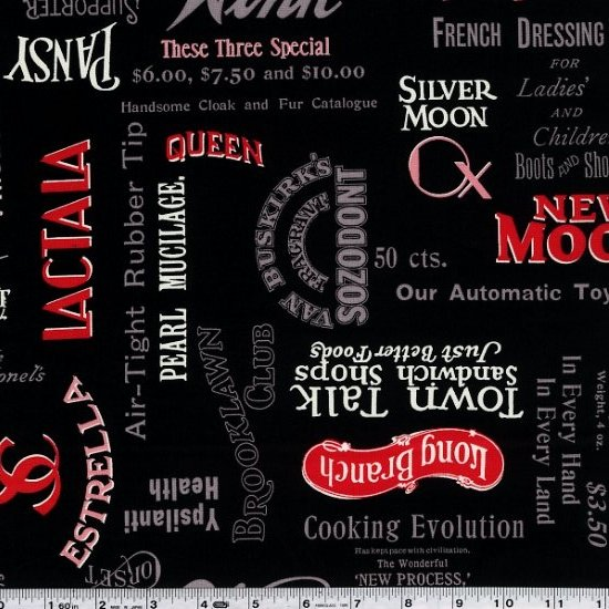 Mrs. March's Retro Pop - Vintage Advertising - Black