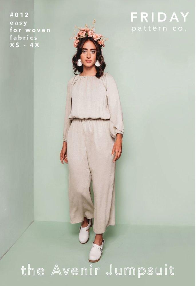 Friday Pattern Co. - the Avenir Jumpsuit
