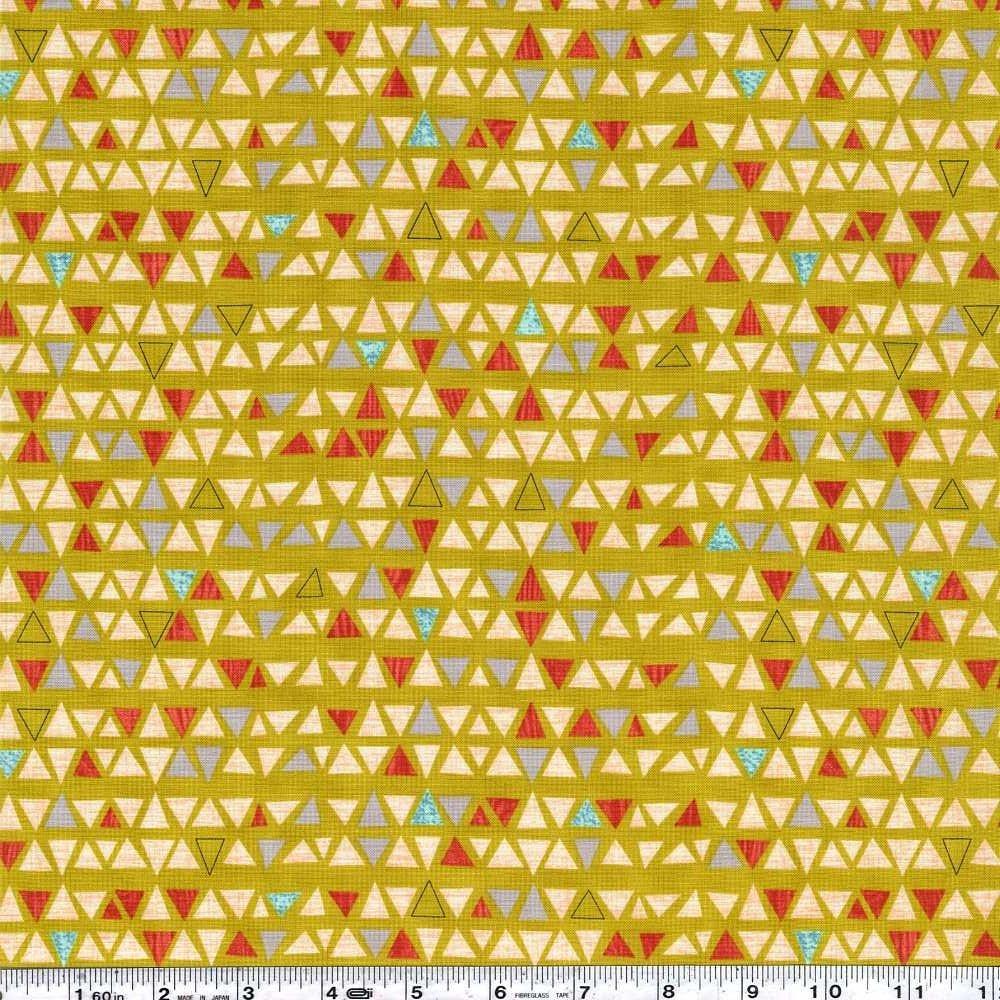 Ninja Cookies - Triangles - Chartreuse