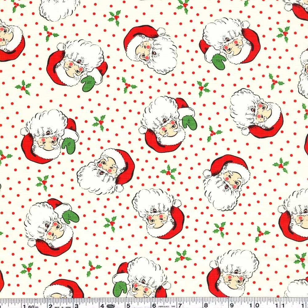 Swell + Sweet Christmas - Vintage Santa - Cream