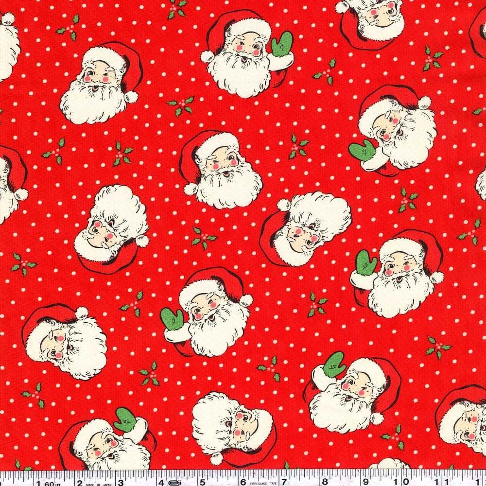 Swell + Sweet Christmas - Vintage Santa - Red