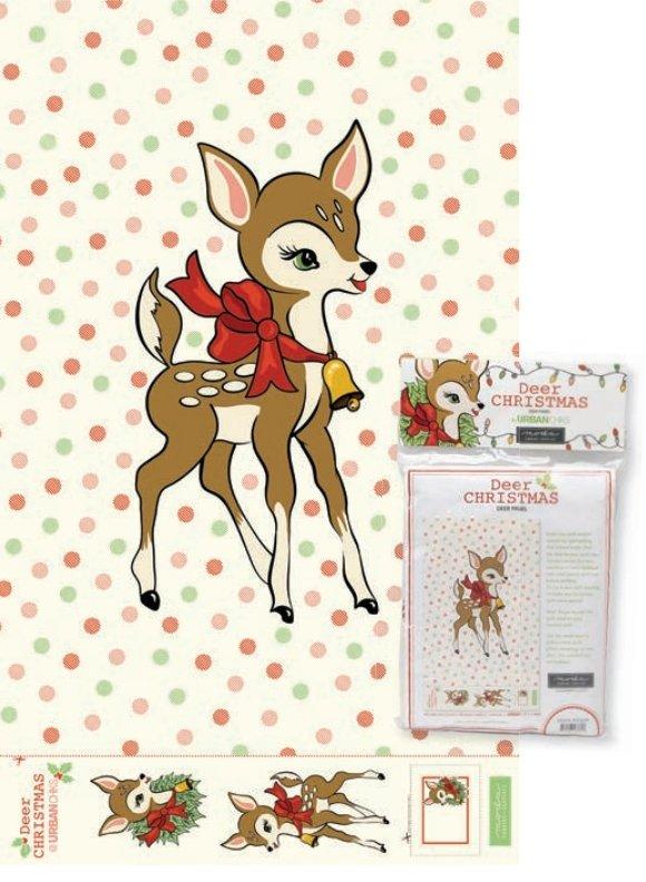 Deer Christmas - Digital Deer Panel