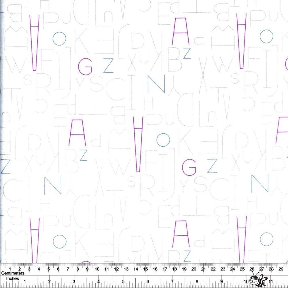 Moji Palette - Alphabet - Ivory