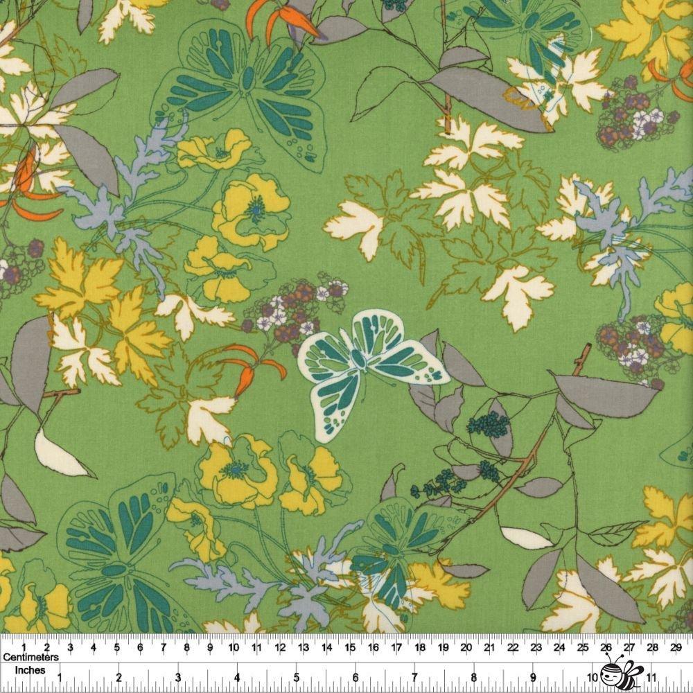 Butterfly Meadow Lawn - Green