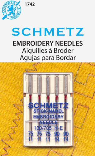 Schmetz Needles - Embroidery Assortment